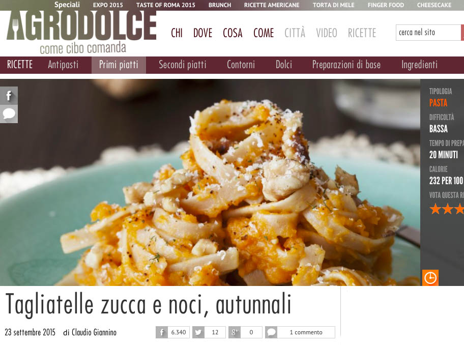 Agrodolce.it